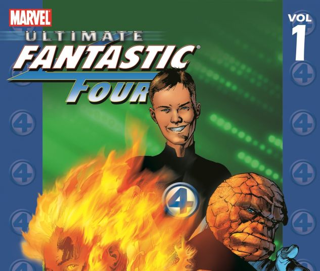 ULTIMATE FANTASTIC FOUR VOL. 1: THE FANTASTIC TPB 0 cover