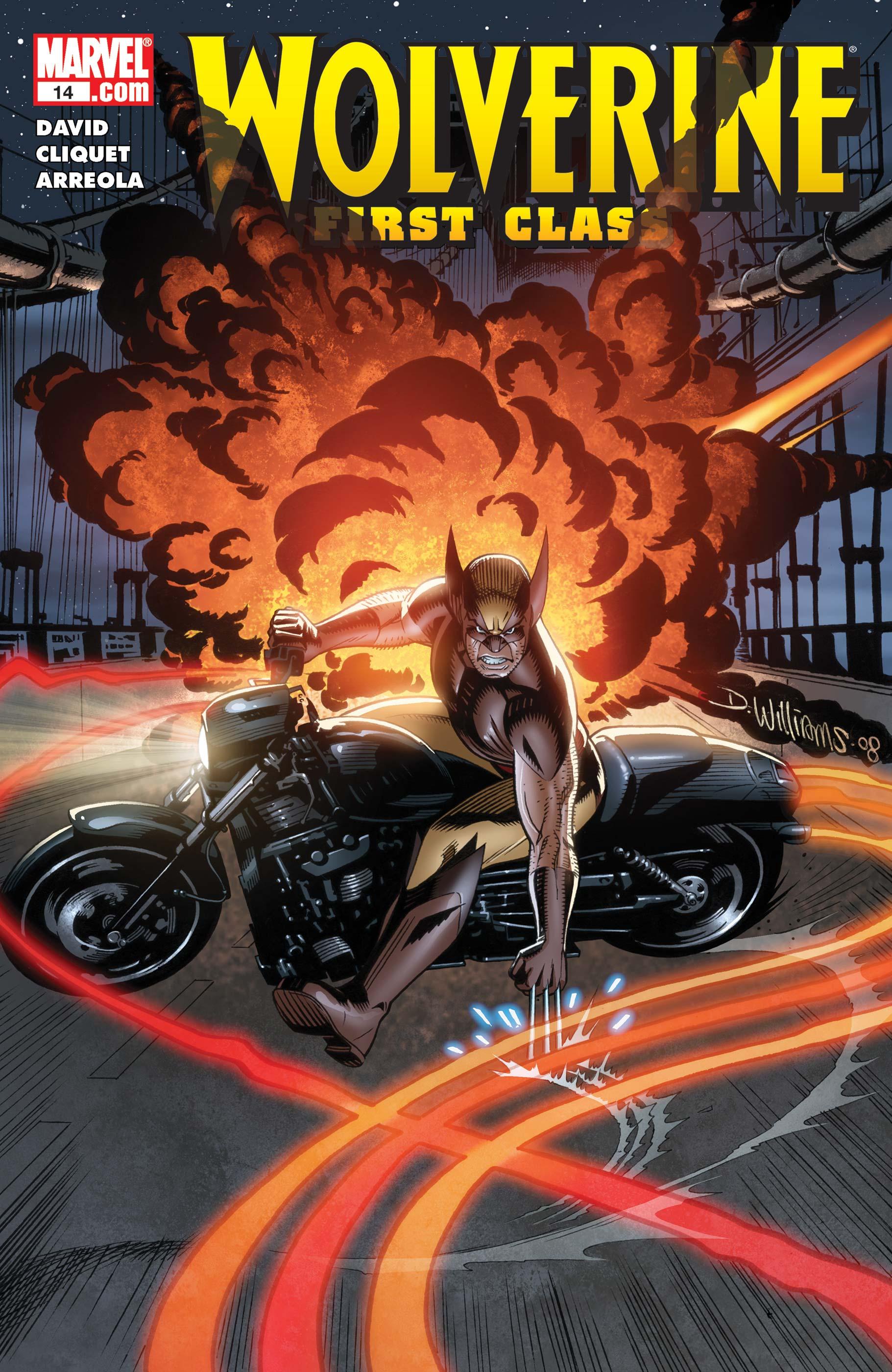 Wolverine: First Class (2008) #14