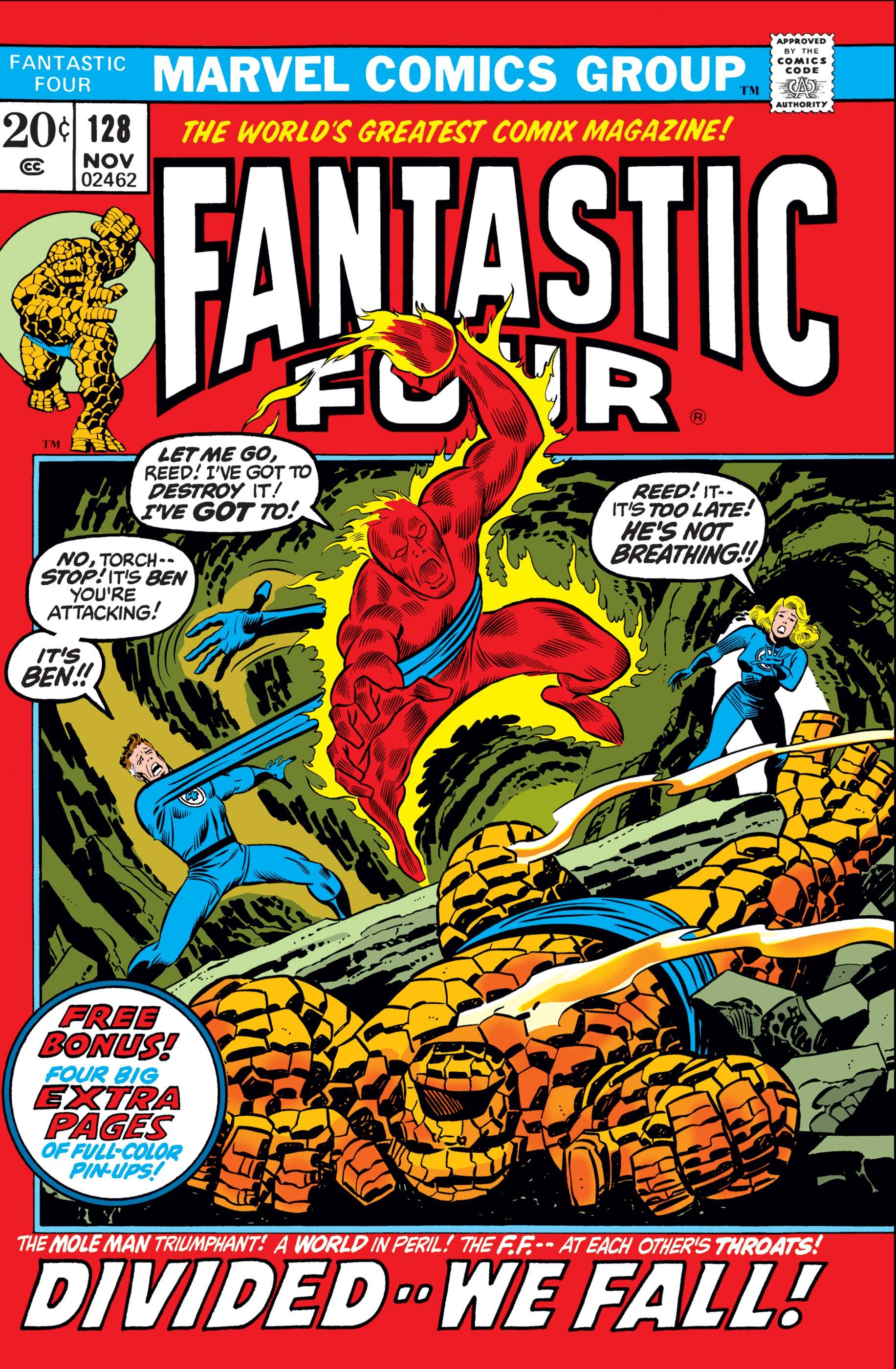Fantastic Four (1961) #128