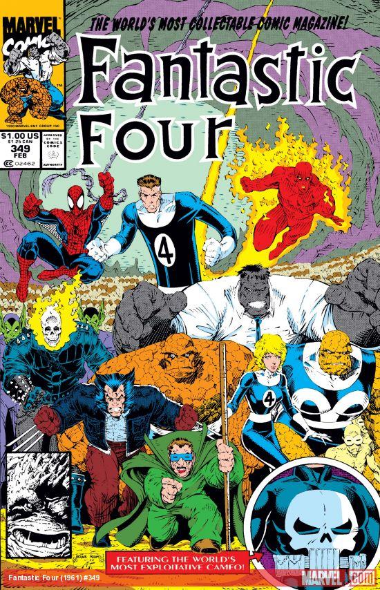Fantastic Four (1961) #349