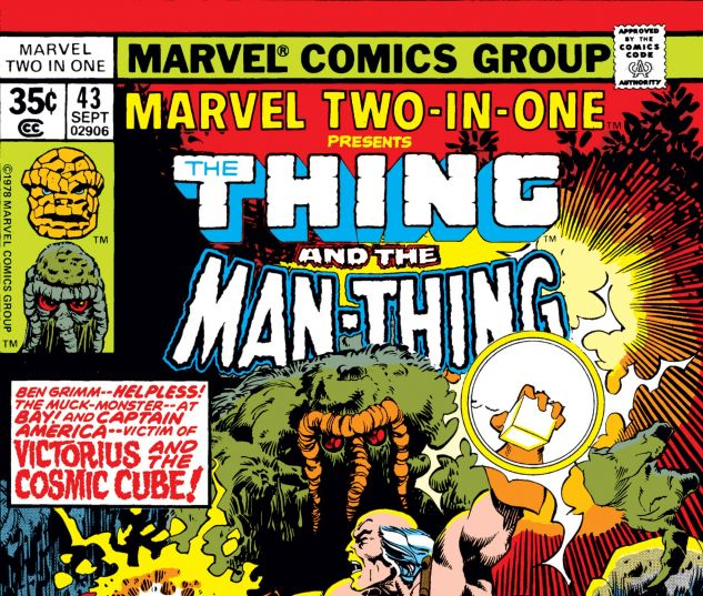 Marvel Two-in-One (1974) #43