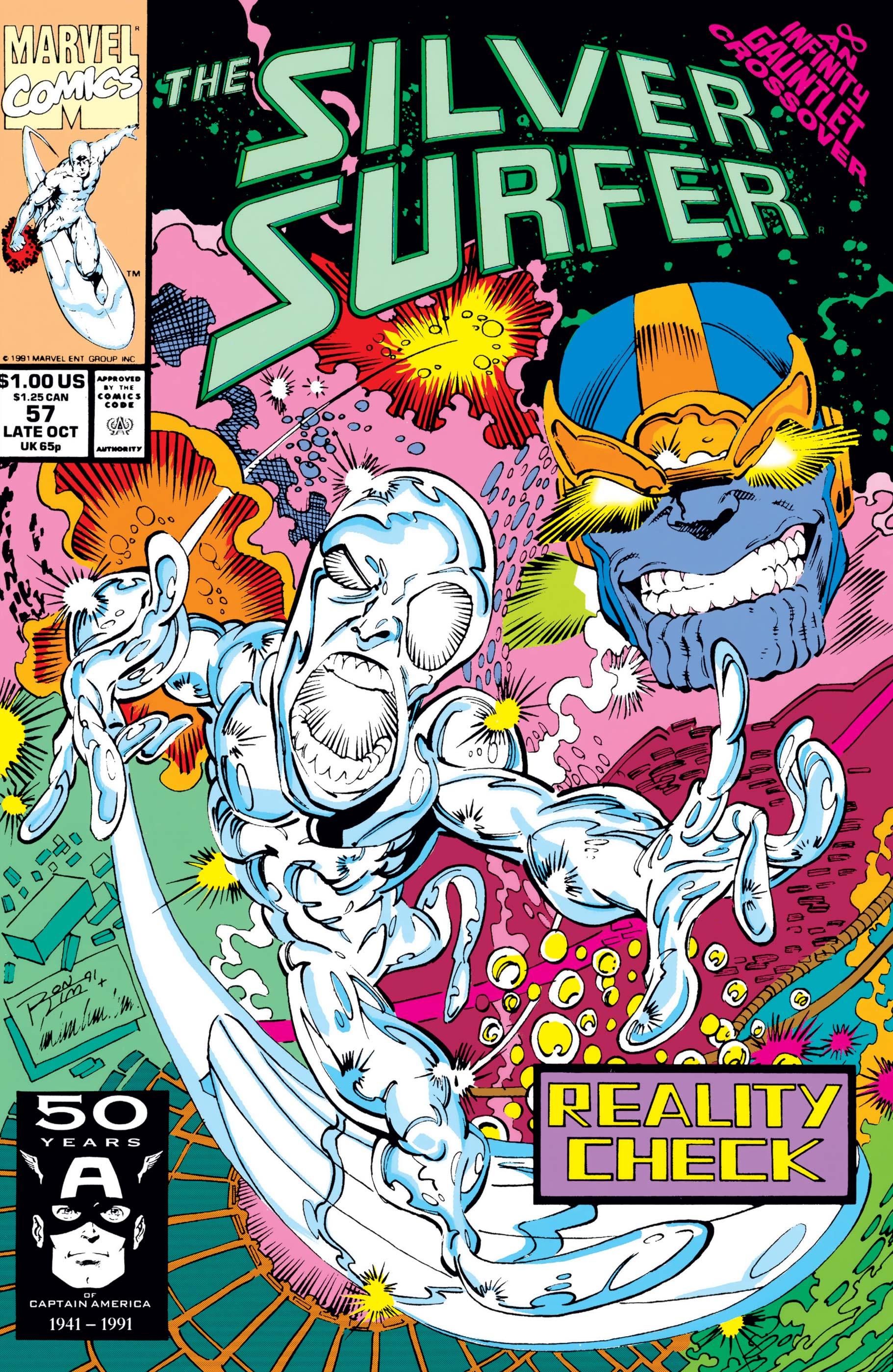 Silver Surfer (1987) #57