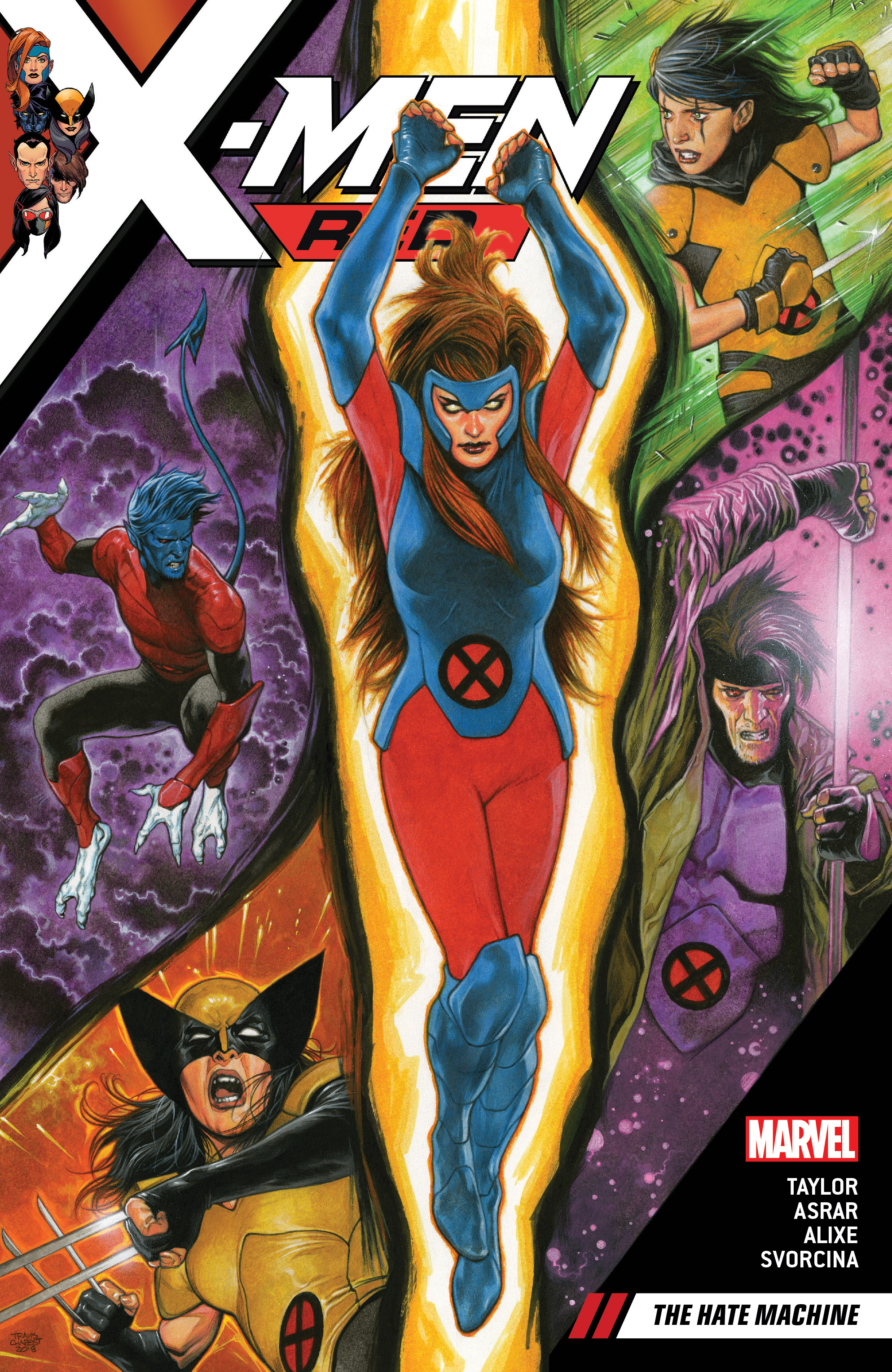 X-Men Red Vol. 1: The Hate Machine (Trade Paperback)