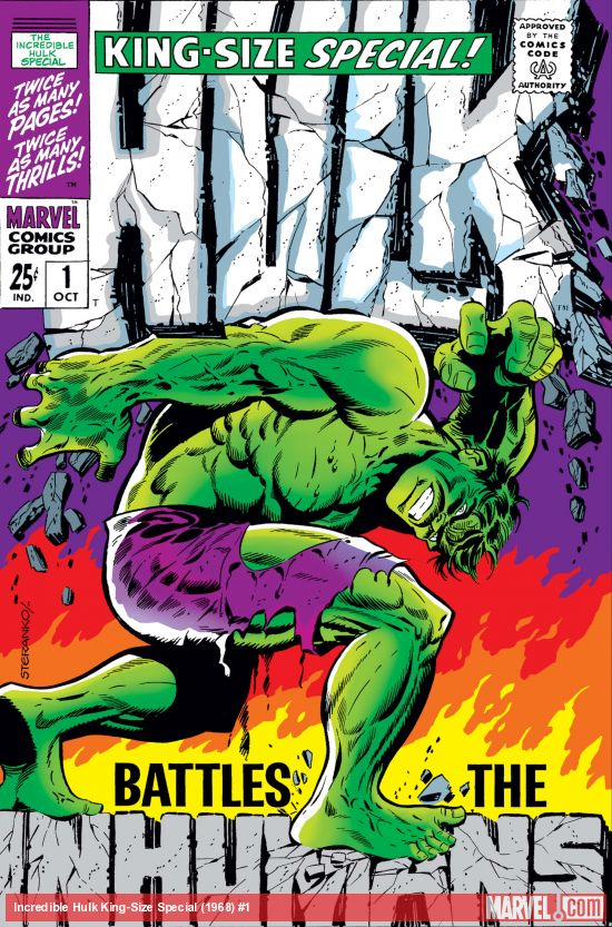 Incredible Hulk King-Size Special (1968) #1