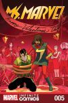 cover from Ms. Marvel Vol. 1 Kids Infinite Comic (2018) #5
