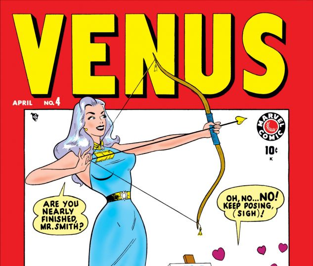 cover from Venus (1948) #4