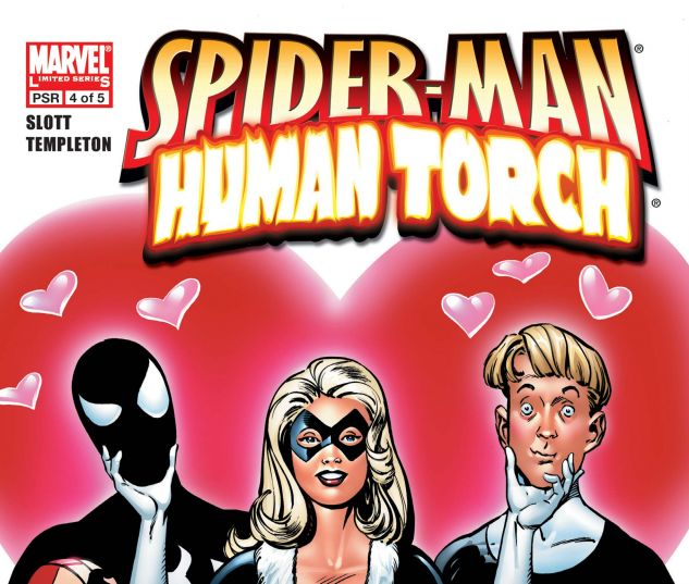 SPIDER-MAN/HUMAN TORCH (2005) #4