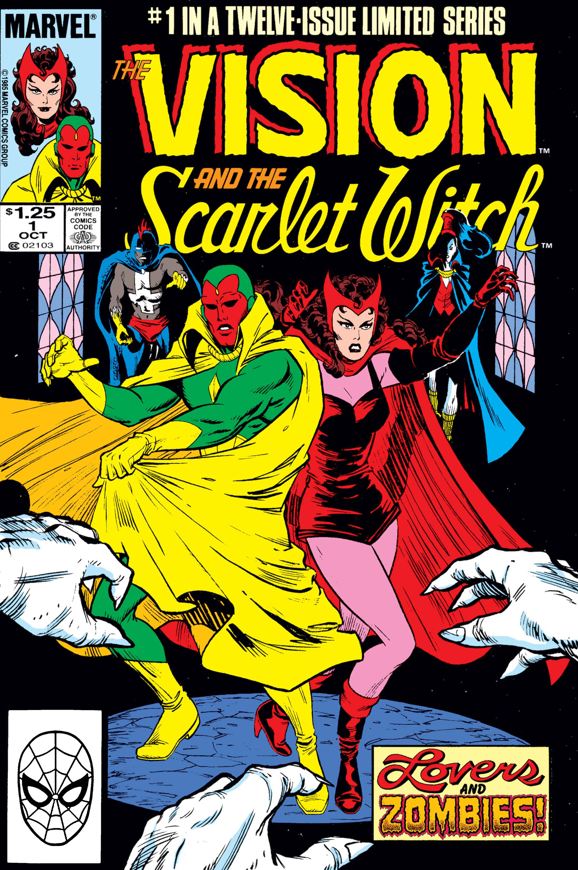 Vision and the Scarlet Witch (1985) #1 | Comic Issues | Marvel