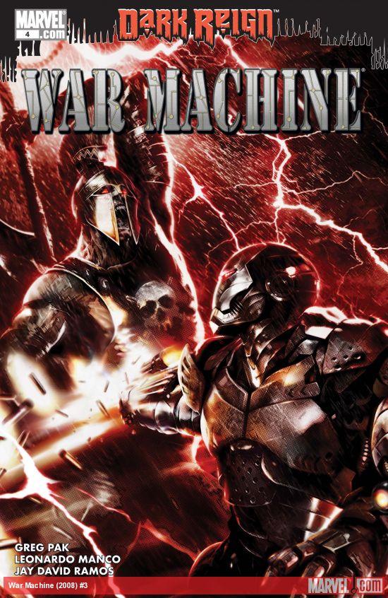 War Machine (2008) #3