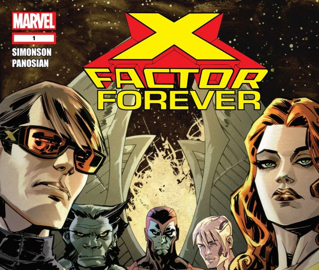 X-FACTOR FOREVER (2010) #1