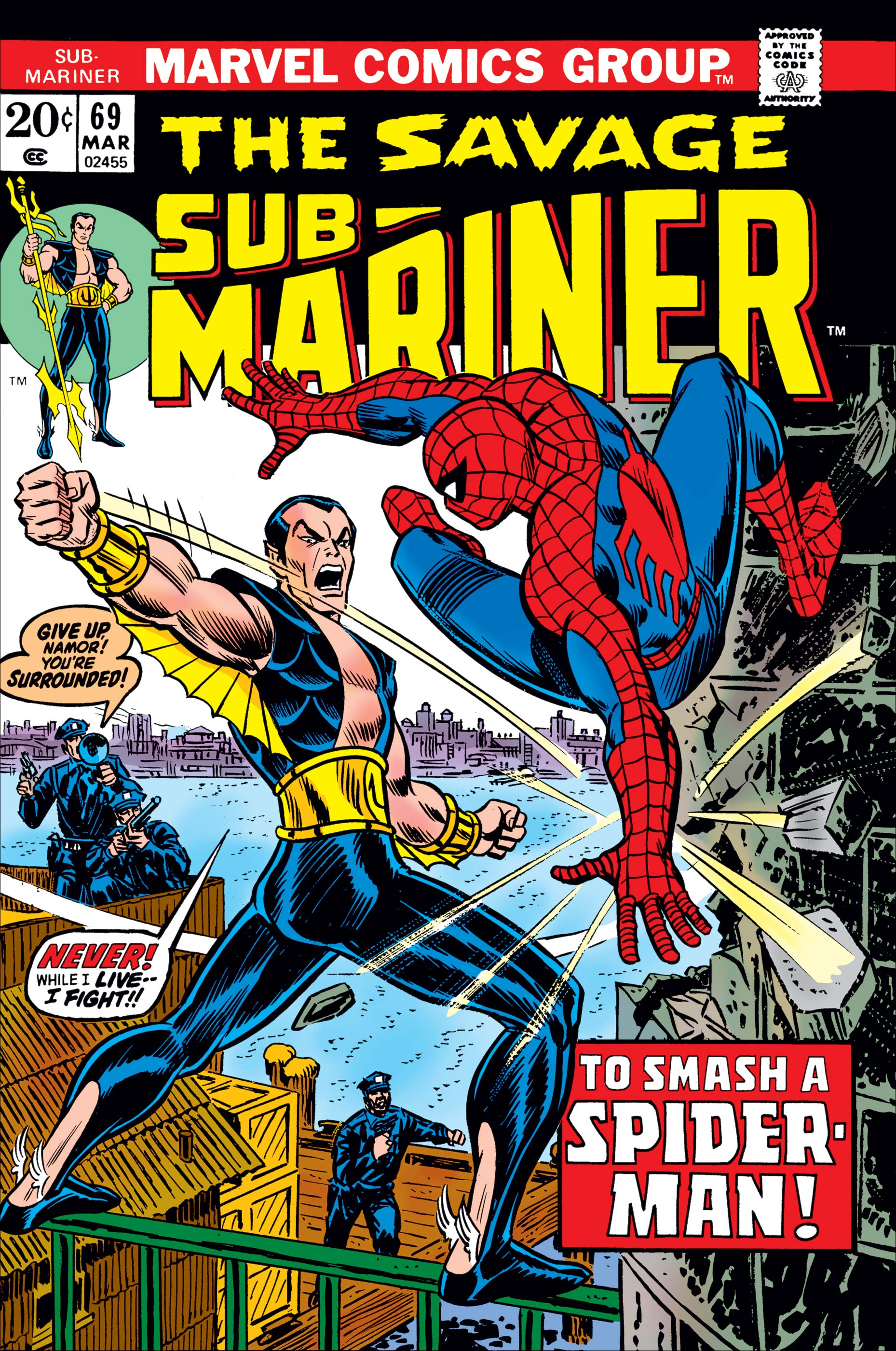 Sub-Mariner (1968) #69