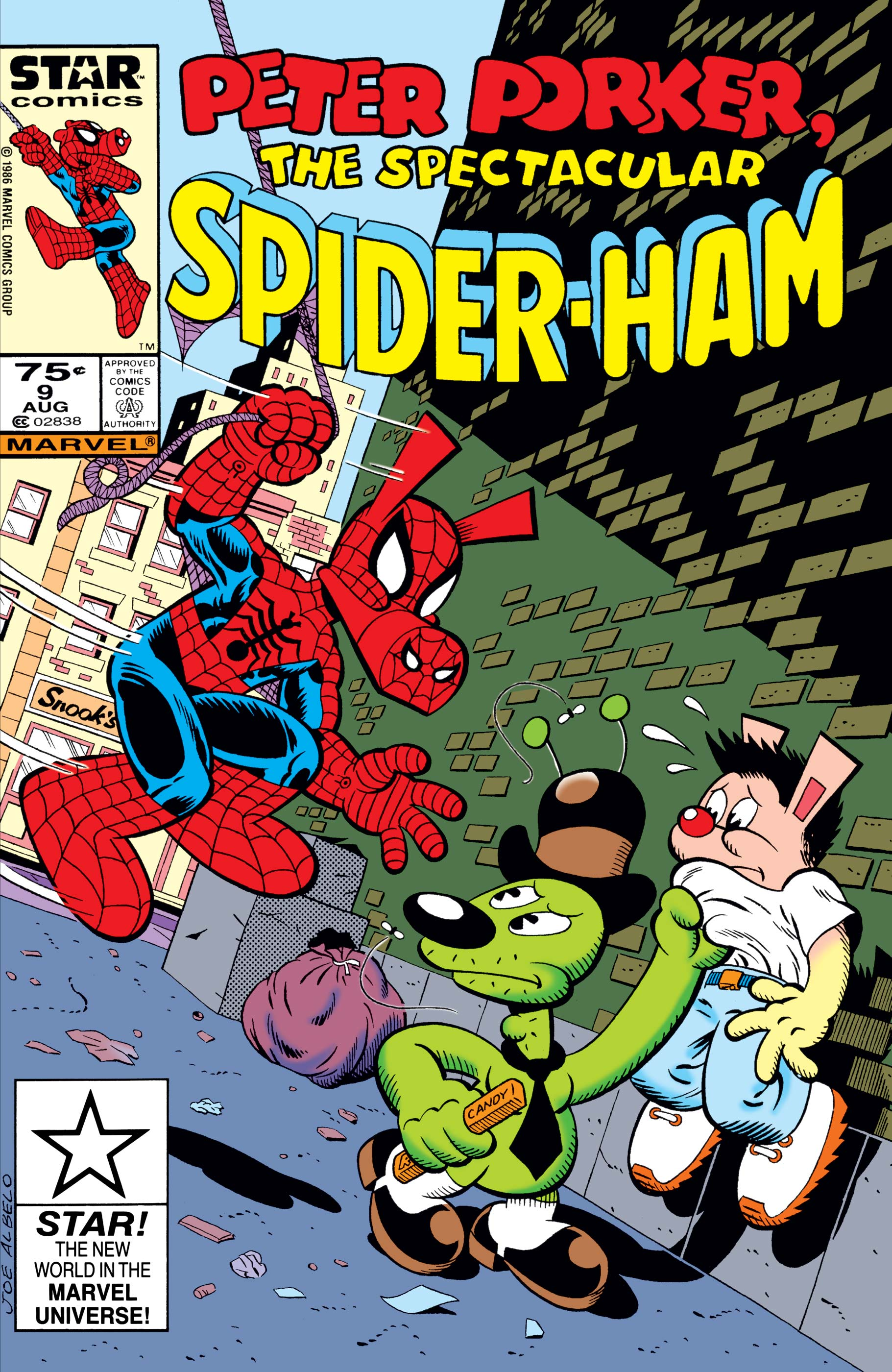 Peter Porker, the Spectacular Spider-Ham (1985) #9