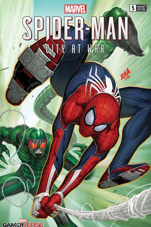Marvel's Spider-Man: City at War #5  (Variant)