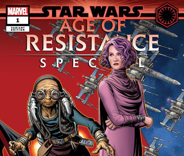 STAR WARS: AGE OF RESISTANCE SPECIAL 1 MCKONE PUZZLE PIECE VARIANT #1