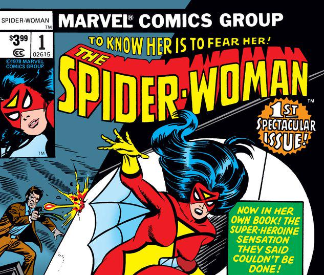 SPIDER-WOMAN 1 FACSIMILE EDITION #1