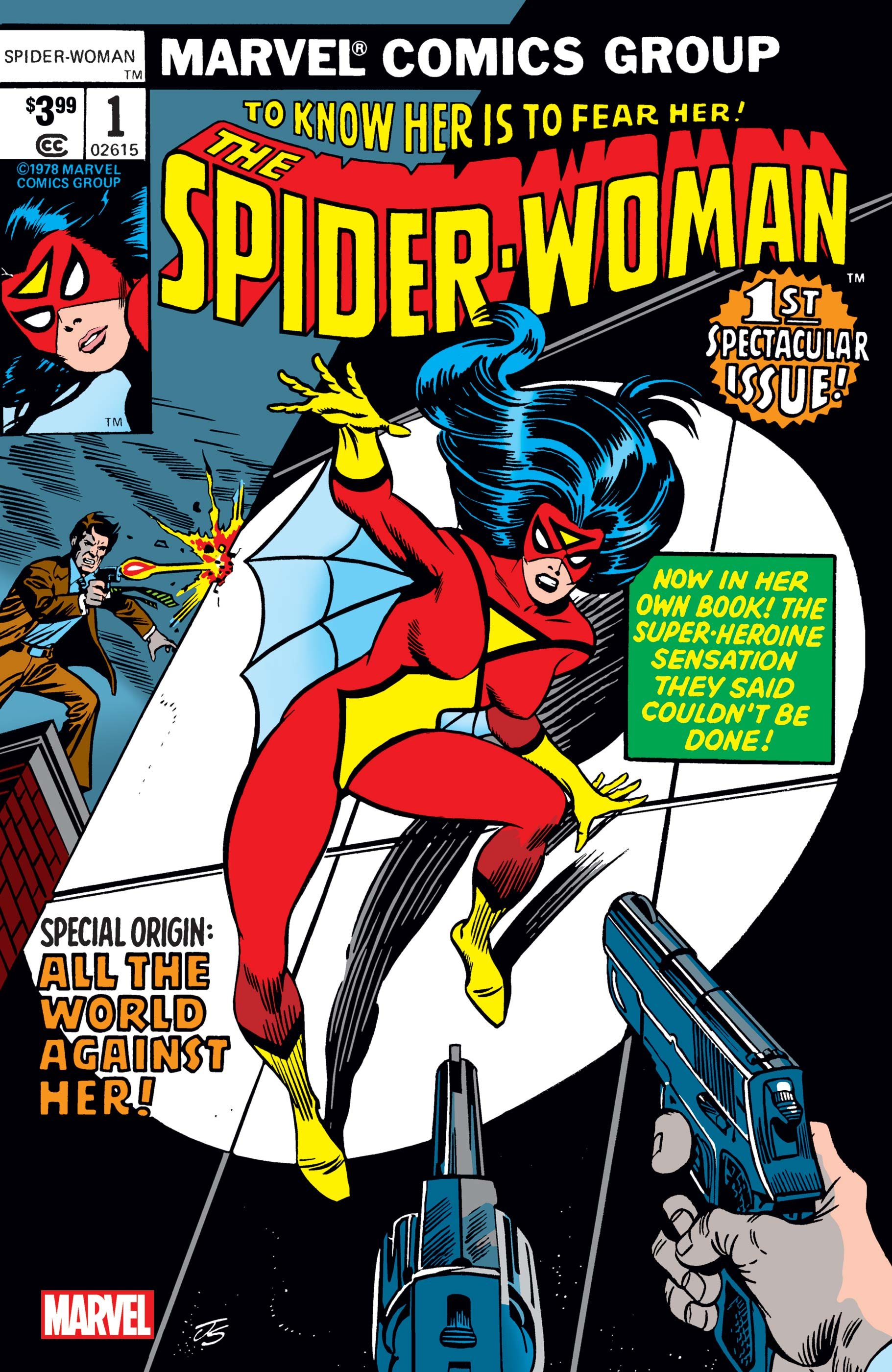 Spider-Woman Facsimile Edition (2019) #1