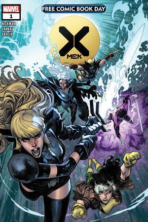 Free Comic Book Day: X-Men #1