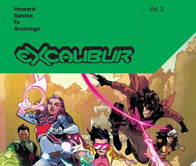 EXCALIBUR BY TINI HOWARD VOL. 2 TPB #2