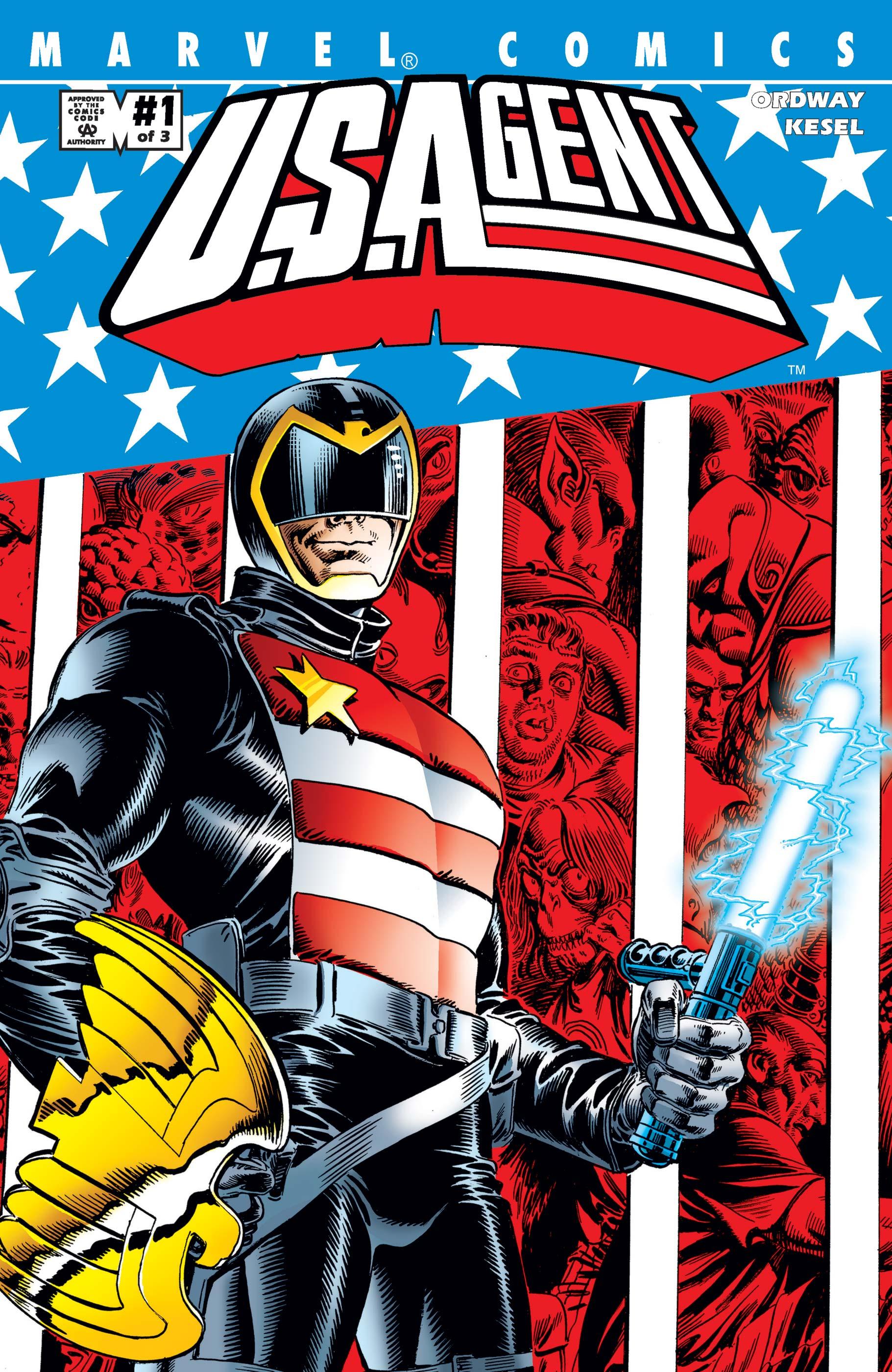 U.S.Agent (2001) #1