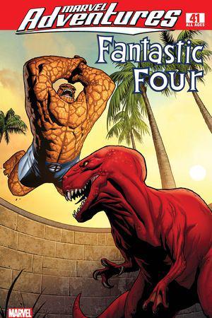 Marvel Adventures Fantastic Four #41