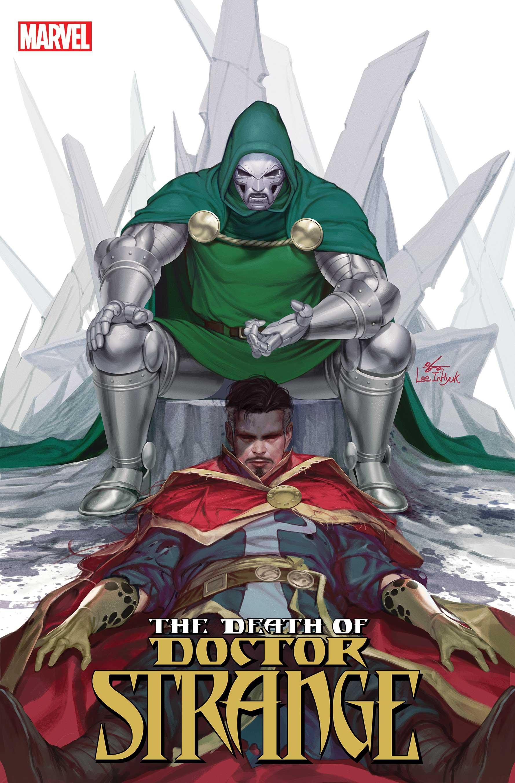 Death of Doctor Strange (2021) #3 (Variant)