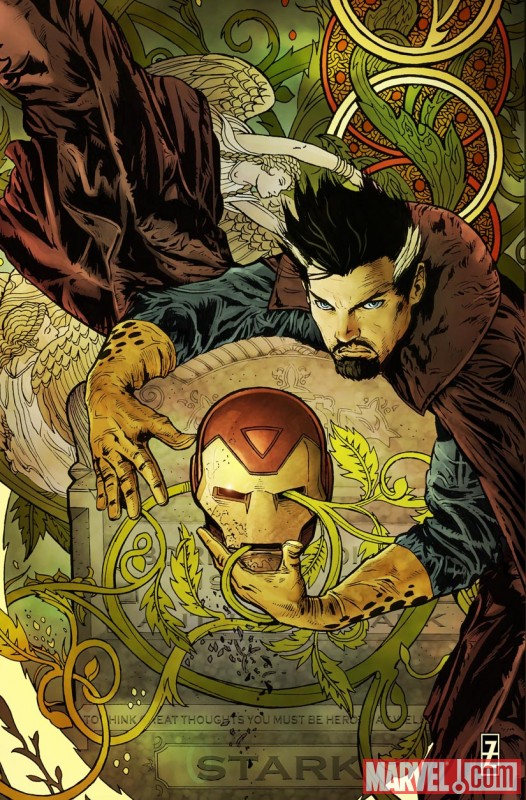 Invincible Iron Man (2008) #22 (50/50 VARIANT)