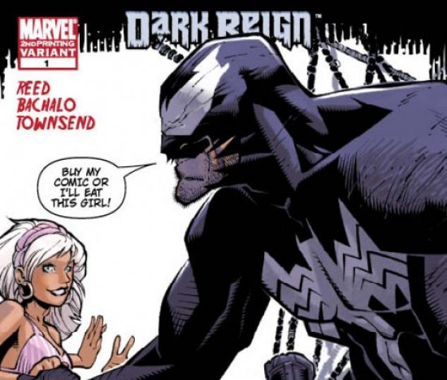 DARK REIGN: THE SINISTER SPIDER-MAN #1 (2ND PRINTING VARIANT)