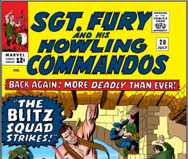 Sgt. Fury and His Howling Commandos #20