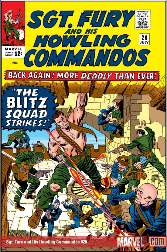 Sgt. Fury and His Howling Commandos (1963) #20