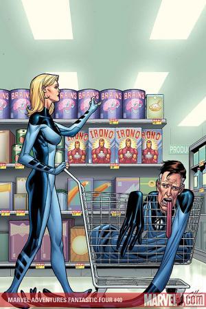 Marvel Adventures Fantastic Four (2005) #40