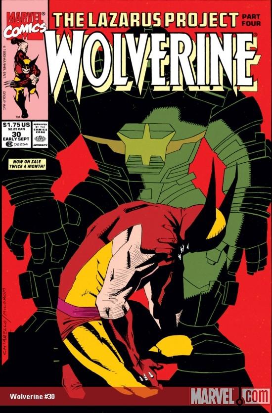 Wolverine (1988) #30