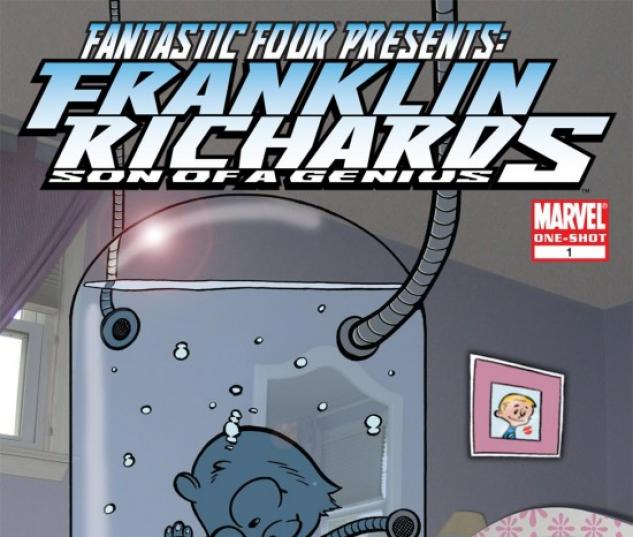 FANTASTIC FOUR PRESENTS FRANKLIN RICHARDS (2007) #1 COVER