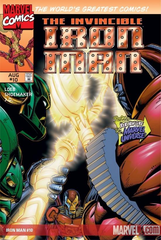 Iron Man (1996) #10