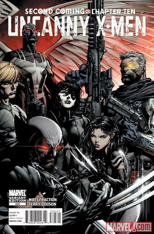 Uncanny X-Men (1963) #525 (FINCH VARIANT)
