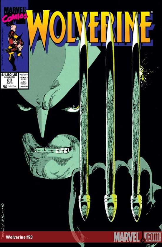 Wolverine (1988) #23
