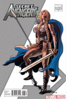 Secret Avengers (2010) #3 (VARIANT)