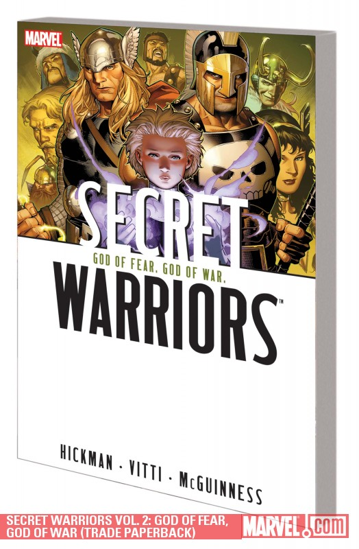 Secret Warriors Vol. 2: God of Fear, God of War (Trade Paperback)