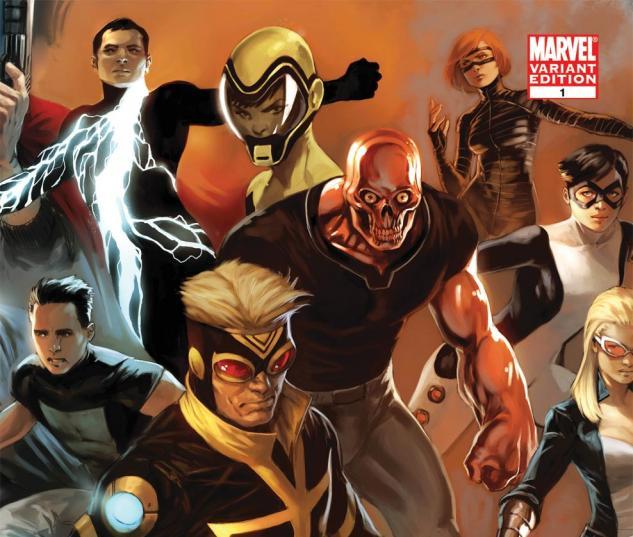 Avengers Academy (2010) #1, Djurdjevic Variant