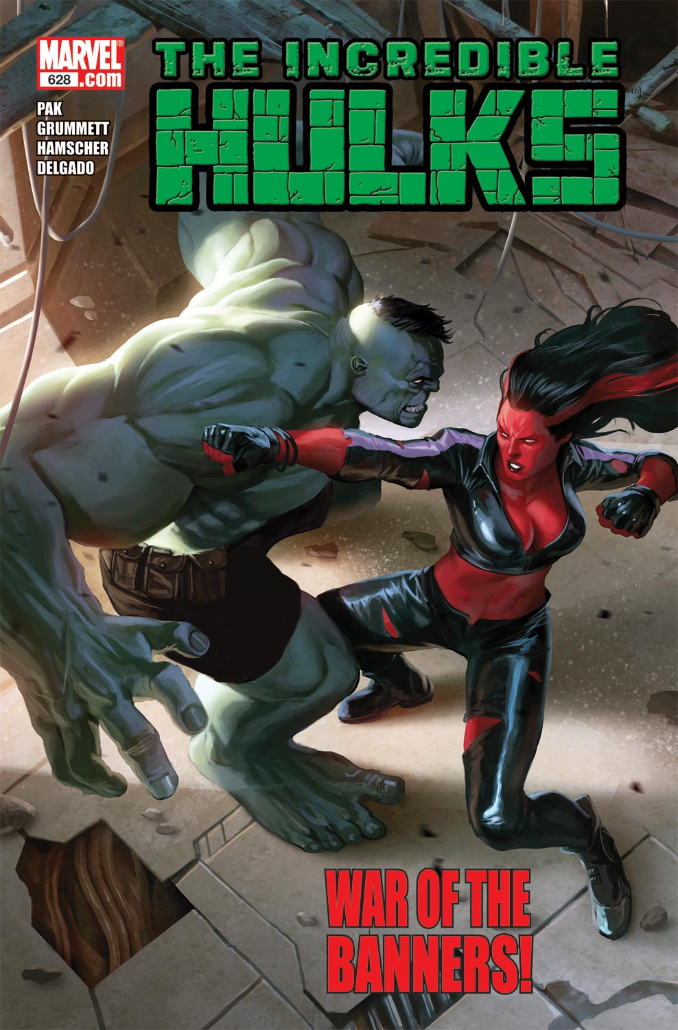 Incredible Hulks (2010) #628