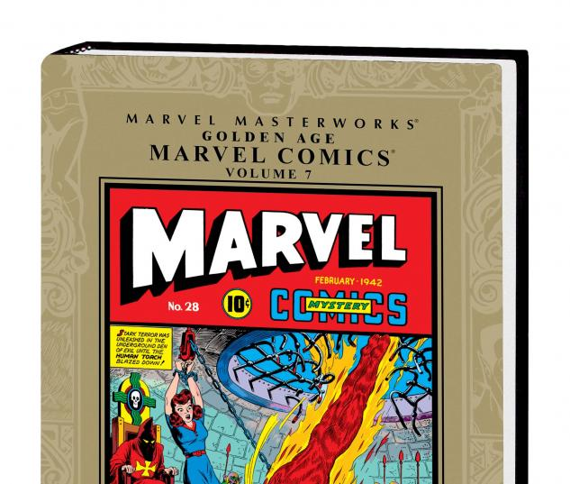MARVEL MASTERWORKS: GOLDEN AGE MARVEL COMICS VOL. 7 HC