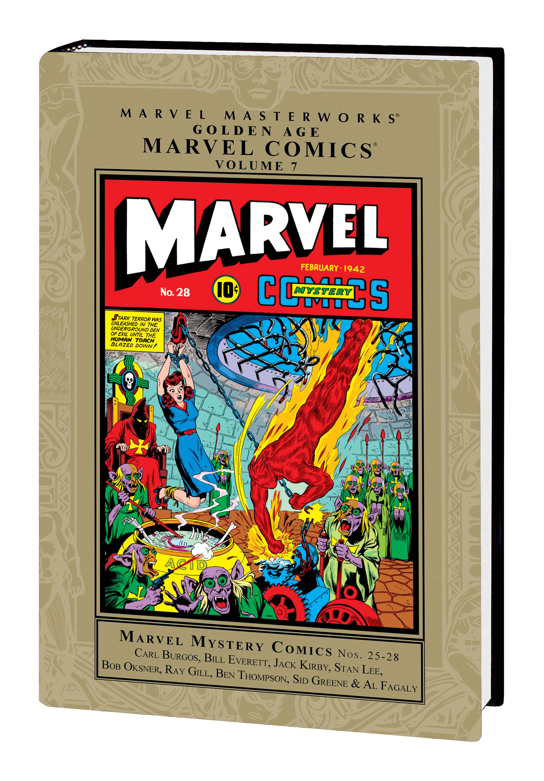Marvel Masterworks: Golden Age Marvel Comics (Hardcover)