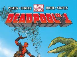 Deadpool (2012) #1 cover by Geof Darrow