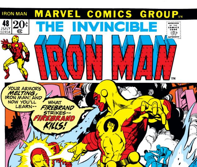 Iron Man (1968) #48 Cover