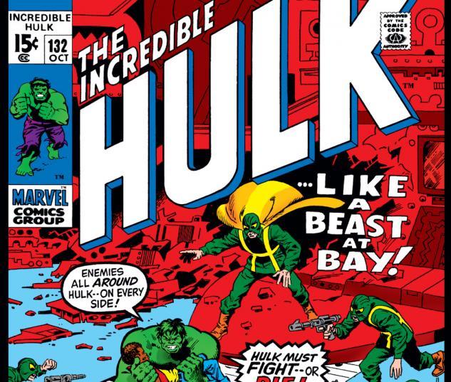 Incredible Hulk (1962) #132 Cover