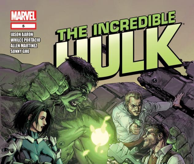 Incredible Hulk (2011) #5