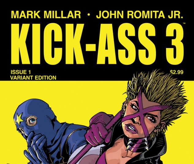 KICK-ASS 3 1 HAMNER VARIANT