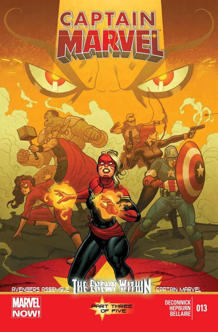 Captain Marvel (2012) #13