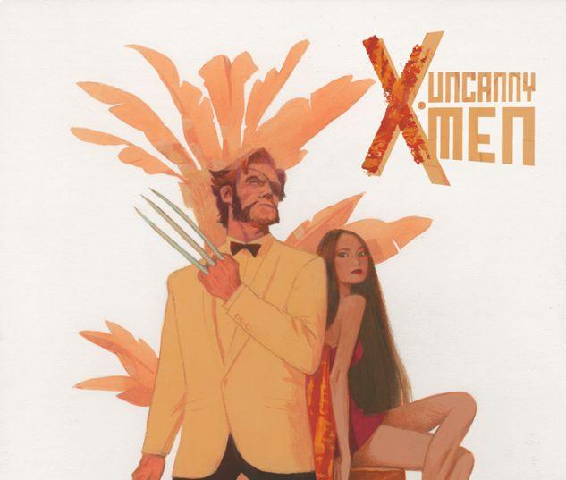 UNCANNY X-MEN 7 DEL CARMEN WOLVERINE COSTUME VARIANT