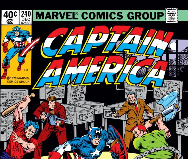 Captain America (1968) #240 Cover