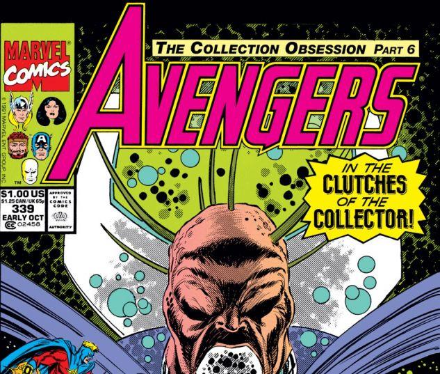Avengers (1963) #339 Cover